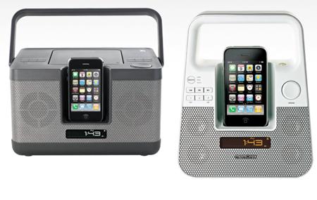 Sistemas de audio de Memorex para iPhone