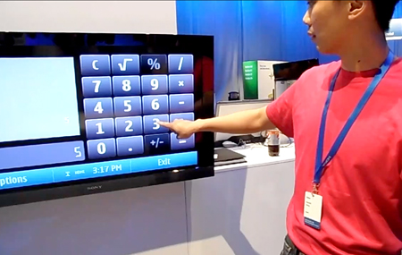 Nokia N8 convierte una HDTV en táctil