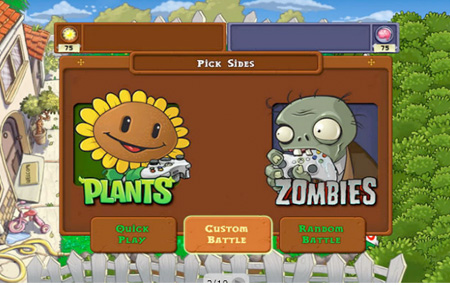 Plants vs Zombies en Xbox LIVE