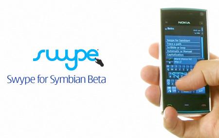 Teclado Swype para Symbian