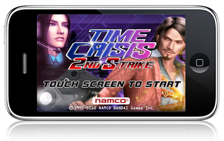 Llega Time Crisis 2nd Strike a iPhone