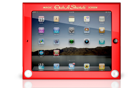 Funda Etch a Sketch para iPad