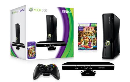 Nuevo paquete de Xbox 360 con Kinect
