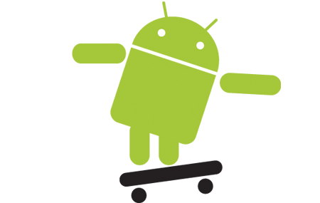 El Robot de Android en video