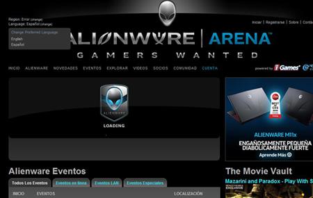 Alienware Arena ahora en español