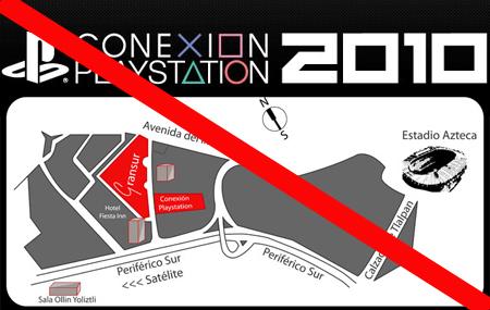 Conexión PlayStation 2010 Pospuesto