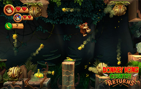 Donkey Kong Country Returns está de vuelta