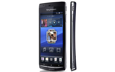 Sony Ericsson Xperia arc con Android