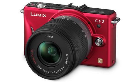 Lumix DMC-GF2 con lentes intercambiables