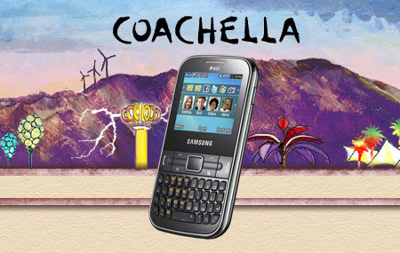Samsung te lleva a Coachella
