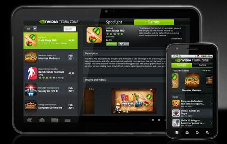 Tegra Zone llega a la Android Market
