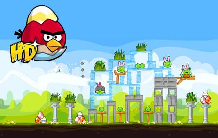Angry Birds Seasons: Easter!