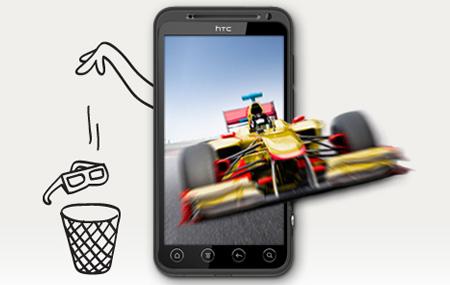 Nuevo HTC EVO con tecnología 3D