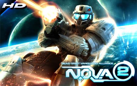 N.O.V.A. 2 para Android sólo en Xperia Play