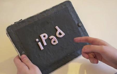 iPad 2 de plastilina