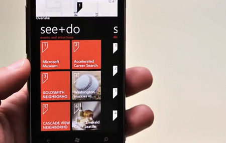 Demo de Windows Phone Mango