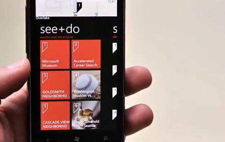 Demo de Windows Phone Mango
