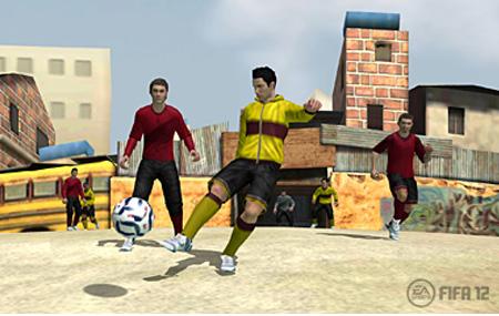 Detalles de FIFA 12 para Nintendo 3DS