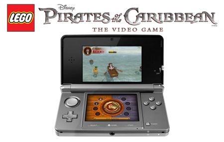 LEGO Pirates of the Caribbean llega a Nintendo 3DS