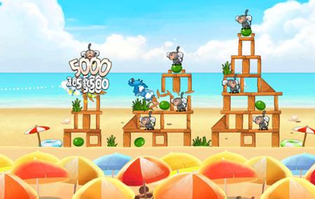 Llega Angry Birds Rio Samba