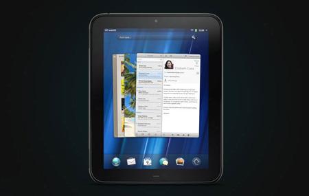 Así trabaja la nueva HP TouchPad