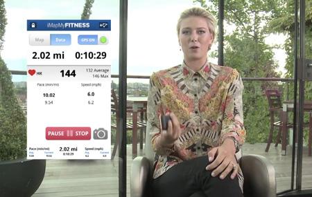 Maria Sharapova habla de Xperia active