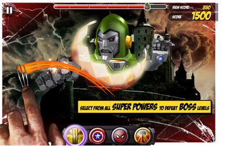Marvel KAPOW para iPhone o iPad