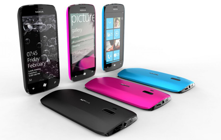 Nokia Windows Phone en octubre