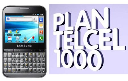Conoce el Plan Telcel 1000