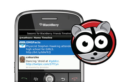 Seesmic dejará a BlackBerry