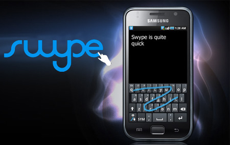 Nuevas funciones en Swype 3.0