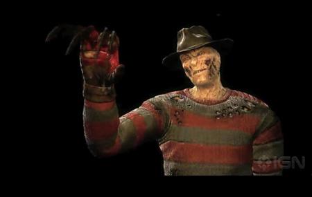 Freddy Krueger llega a Mortal Kombat