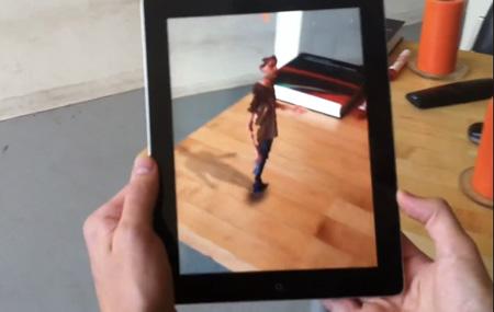 Realidad Aumentada con iPad y Kinect