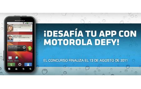 Crea una Aplicación de Android para Motorola DEFY