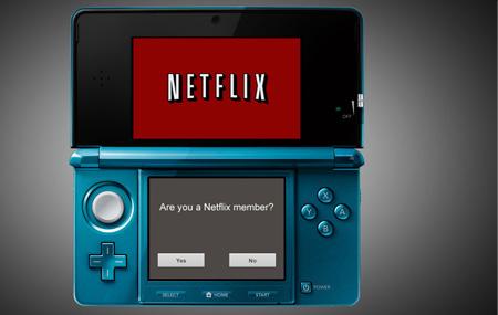 Netflix llega al Nintendo 3DS