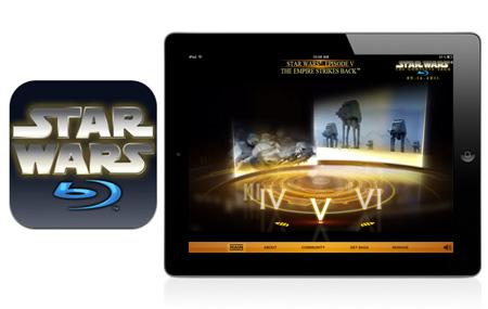 Star Wars Blu-ray: Early Access en iPad
