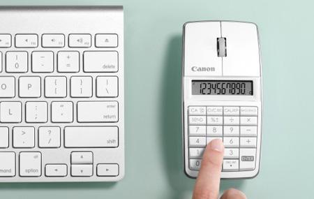 X Mark I Mouse la calculadora de Canon