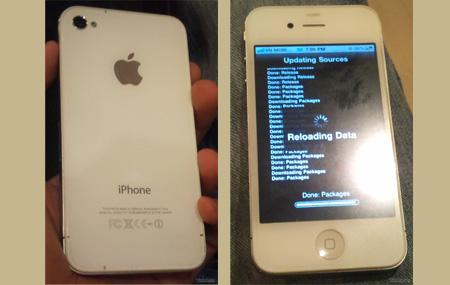 Posibles imágenes del iPhone 4S