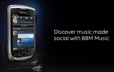 RIM presenta BBM Music