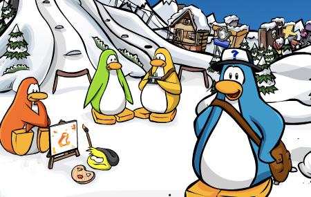 Fin de semana con Club Penguin