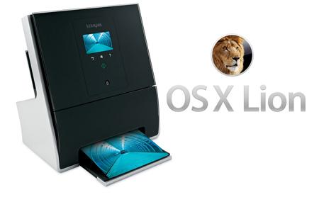 Lexmark se actualiza a Mac OS X Lion