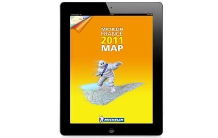 Michelin Francia 2011 está en iPad
