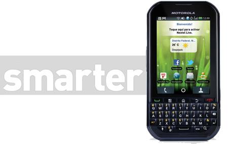 Motorola Titanium, el Smarter de Nextel