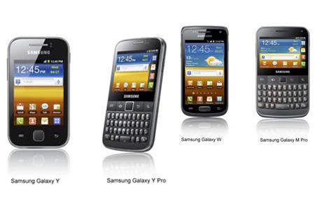 Cuatro nuevos Samsung Galaxy