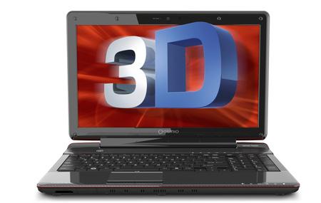 Toshiba Qosmio F755 la primer laptop 3D sin lentes