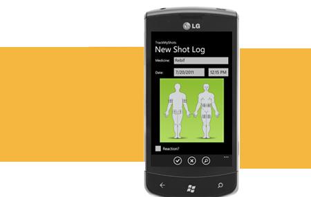 TrackMyShots ayuda a pacientes con diabetes
