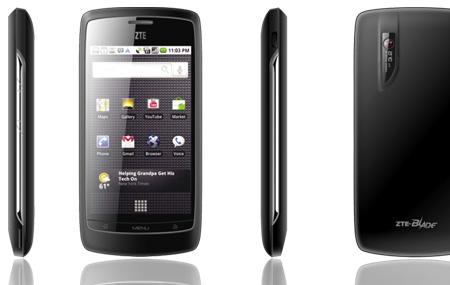 ZTE vende 35 millones de teléfonos en 2011