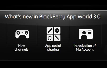 Disponible BlackBerry App World 3.0
