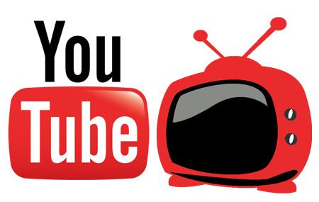 YouTube con canales de Televisión