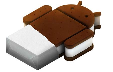 Ice Cream Sandwich en octubre/noviembre
